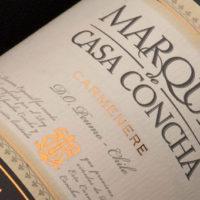 Video/Concha/Marques de Casa Carmenere